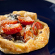 Small puff pastry pie — Stock Photo