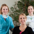 Dental team and patient — Stock Photo #2979570