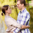 Royalty-Free Stock Photo: Young couple in love