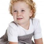 Cute three year old girl — Stock Photo