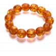 Stock Photo: Amber Armlet isolated