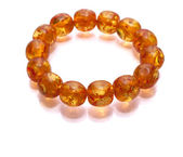 Amber Armlet isolated — Stock Photo