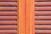 Texture d'ombrage fenêtre en bois — Photo