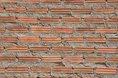 Close up brick wall — Stock Photo
