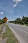 Two way traffic symbol — Stock Photo