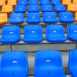 Blue seat in stadium — Stock Photo #3407360
