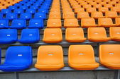 Empty Chair in stadium — Stock Photo
