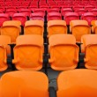 Orange and red seat in stadium 2 — Stock Photo #3421457