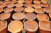 Hand made jar — Stock Photo