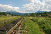 Strada di montagna — Foto Stock