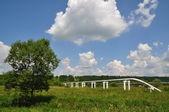 O oleoduto principal de alta pressão — Foto Stock