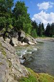 Mountain small river. — Stock Photo