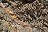 Structure of stone breakage — Stock Photo