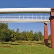 High pressure pipelines — Stock Photo