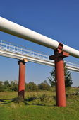 High pressure pipelines — Foto Stock