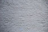 Painted Brick Wall — Stock Photo
