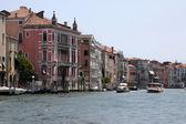 Gran canal de venecia, italia — Foto de Stock