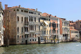 Architecture and a canal. Veneto, Italy. — Stock Photo