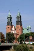 Cathedral in Poznan, Poland. — Stock Photo