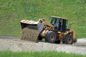 Big bulldozer — Stock Photo