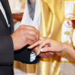 Ring exchange. - Stock Photo