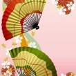 Royalty-Free Stock Vector Image: Japanese Fan