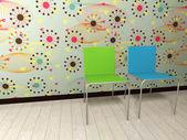 Interiör stol — Stockfoto