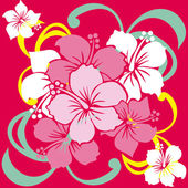 Hibiscus — Stock Vector