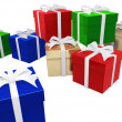 Gift Package - Stock Photo