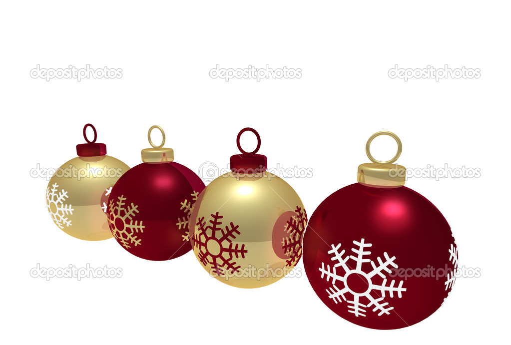 Christmas Balls — Stock Photo #2995836