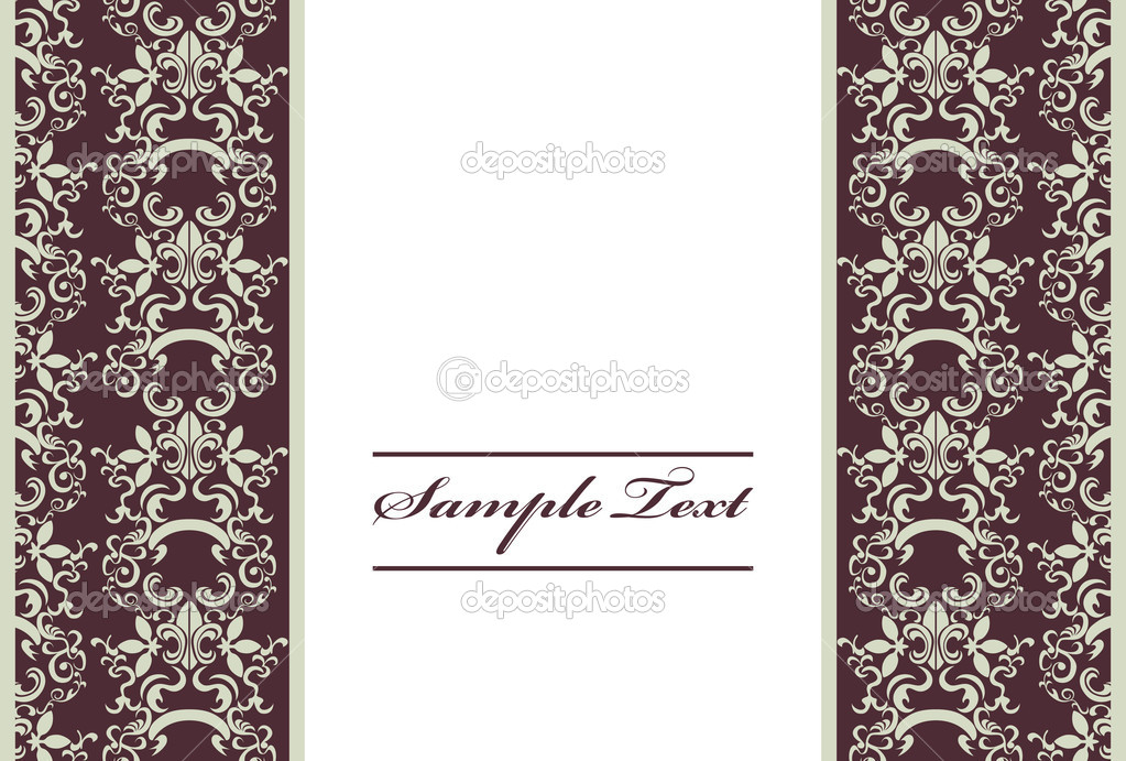 CARD   Stock Vector #3032076