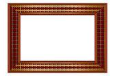 Check frame — Stock Vector