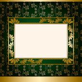 Abstrakt dekoration frame — Stockvektor