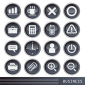 Biznes ikona — Wektor stockowy