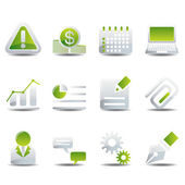 Icons set — Stock Vector