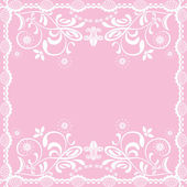 Abstract pink feminine background — Stock Vector