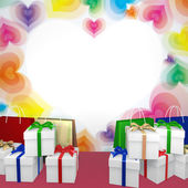 Abstract decoration gift image — Stock Photo