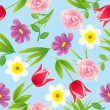 Seamless flower pattern — Stock Vector #3548955