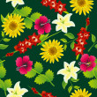 Seamless flower pattern — Stock Vector #3548956