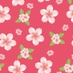 Seamless cherry blossom — Stock Vector