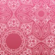Royalty-Free Stock Vector Image: Pink mandala pattern