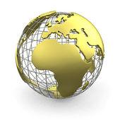 Globo de oro, europa — Foto de Stock