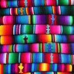 Guatemalan blankets — Stock Photo