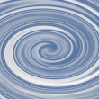 Blue Swirl — Stock Photo