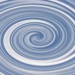 Blue Swirl — Stock Photo