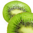 Stock Photo: Kiwi Halves