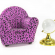 Stock Photo: Armchair Miniature