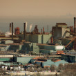 Steel Mill - Stock Photo