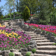 Stone Garden Stairs - Stock Photo