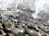 Glistening Pebbles — Stock Photo